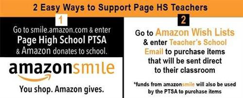 Page high school homepage support page hs through amazon smile fandeluxe Image collections