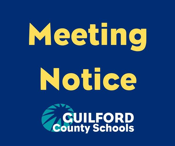 GCS meeting notice