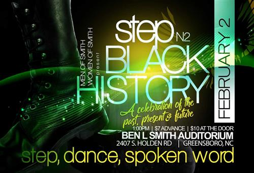 Men and Women of Smith Present Step N2 Black History