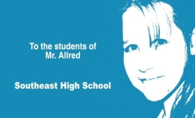 Mr. Chris Allred's cover image for his Memory Project video.