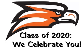 Class of 2020: We Celebrate You sign