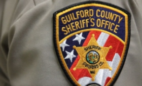Guilford County Sheriff's Office Uniform sleeve with department patch