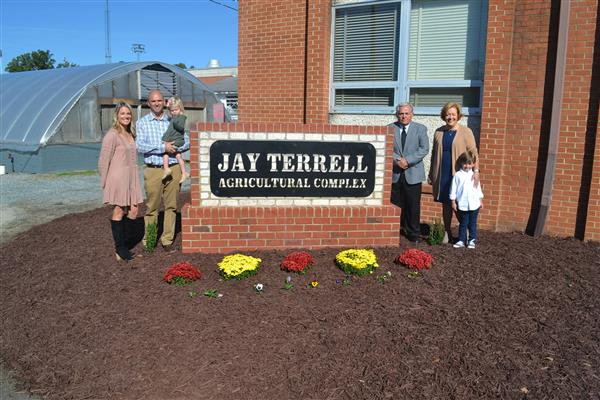 The Jay Terrell Agriculture Complex Dedication