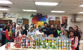 Student Government Food Drive