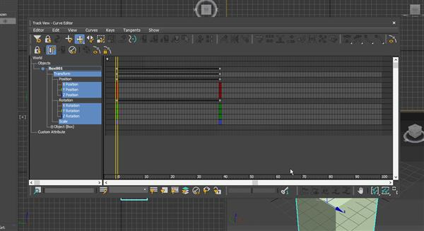 3ds Max Curve Editor