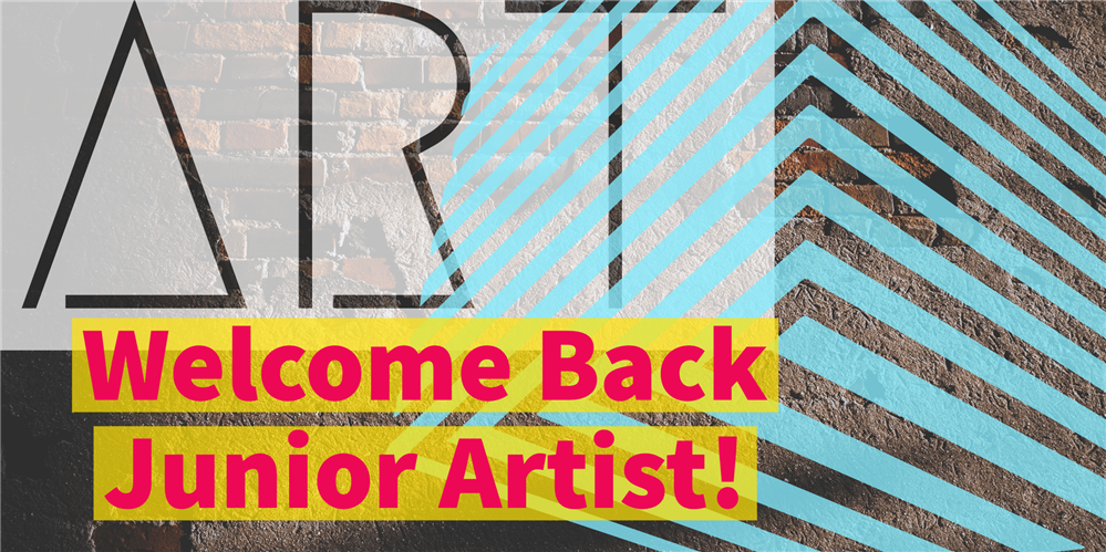 Welcome back junior artists!