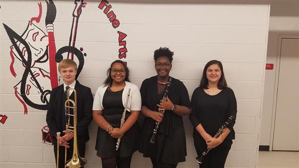 11th & 12th Grade All County Band members