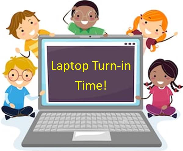 Laptop Turn In Time