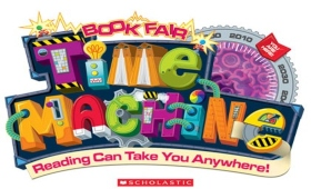 Scholastic Book Fair Time Machine