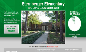 sample Titlewish home page for Sternberger Elementary