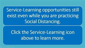 Service-Learning while Social Distancing