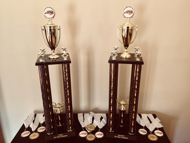 Quiz Bowl Trophies