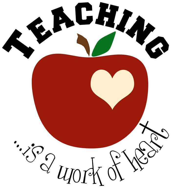 Apple with teaching is a work of heart.