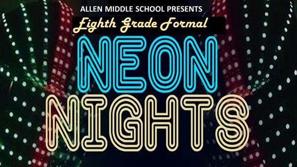 flyer with Neon Nights logo