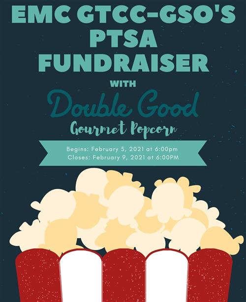 PTSA Fundraiser with Double Good Popcorn