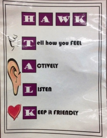 hawk talk flier