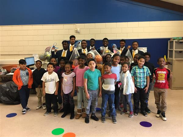 Students at Bessemer Elementary