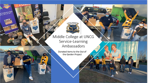 Middle College at UNCG Service-Learning Ambassadors