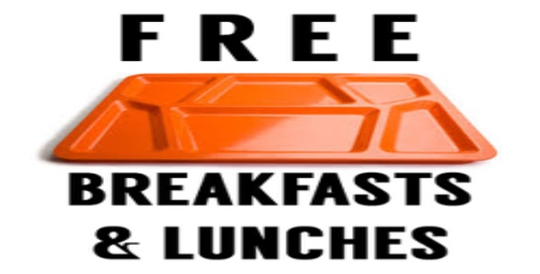 Free Breakfast and Lunches
