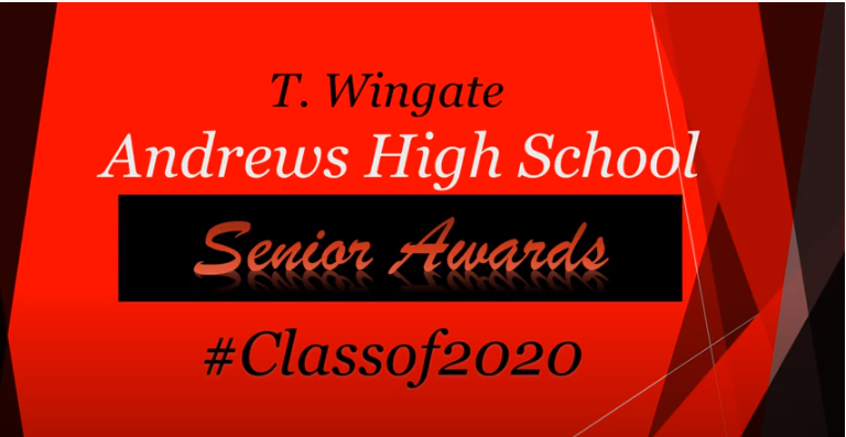 TWA Class of 2020 Awards