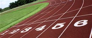 image of a running track