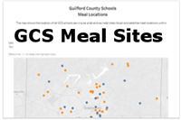 This shows where GCS is providing free meals to all school-aged children.