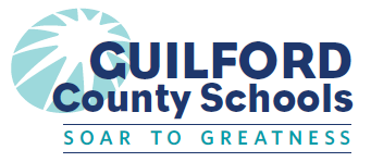 Guilford County Schools logo (soar to greatness)