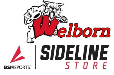 Welborn Academy Athletics and Sideline Sports BSN Logo