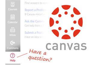 Canvas Q&A support link photo