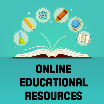 Free Online Educational Resources Icon