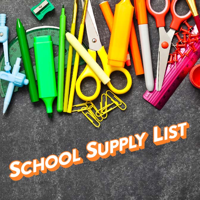Welborn Academy Supply List 2018-2019
