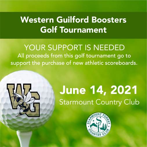 Western Guilford High School Boosters Club is excited to open registration for the Annual Golf Tour