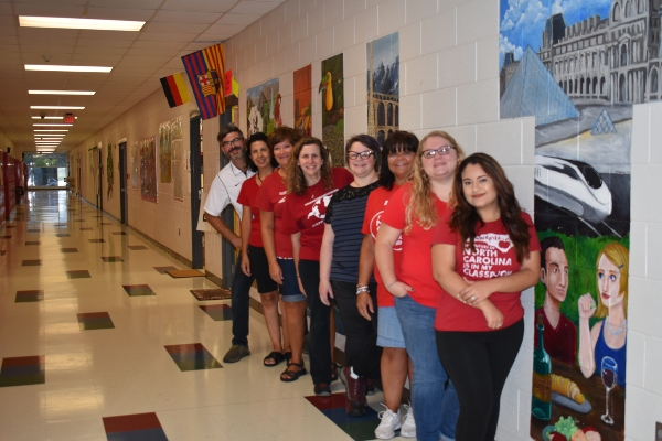 World Language Department Picture