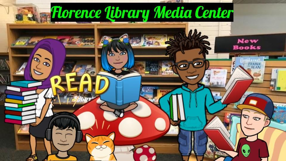 Florence Elementary Library Banner