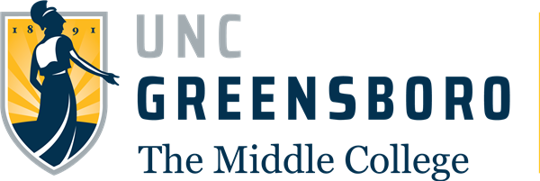 The Middle College at UNCG logo