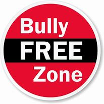 sign affirming a bully free zone