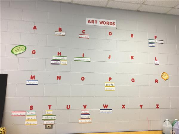 Students are Learning the Language of Art