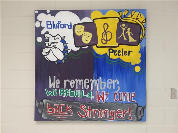 Picture of Mural at Bluford STEM Academy