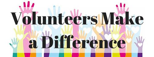 Volunteers Make a Difference Image