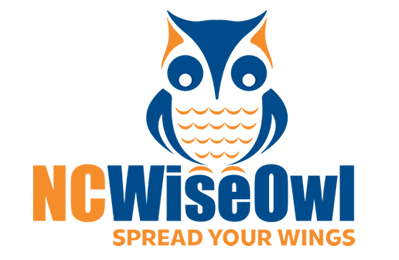 This is an image of the homepage for NCWiseOwl.