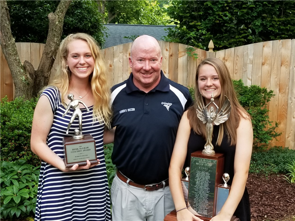 Last year's MVP and Coaches Award winners!
