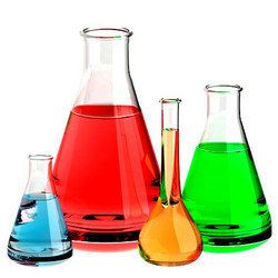 Chemistry picture of beakers and flasks