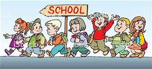 Picture of Children walking to school