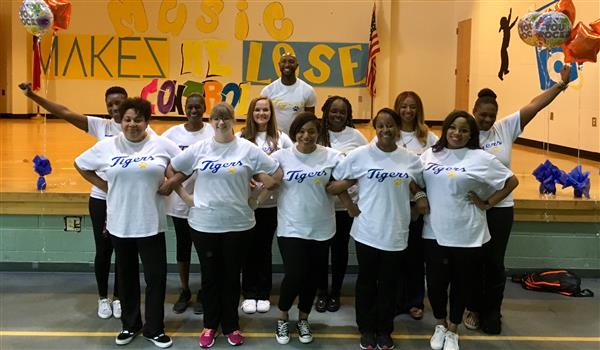 Staff at Brightwood Elementary