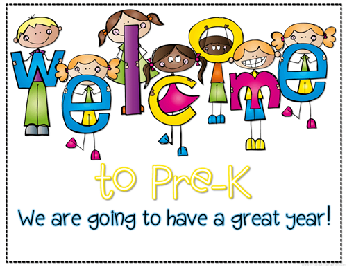 Welcome to Pre-K