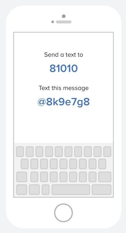 Sign up for Remind 101 - Text @8k9e7g8 to 81010