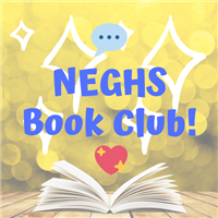 neghs book club image with picture of a book and heart