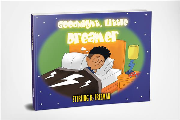 Book cover Goodnight Little Dreamer