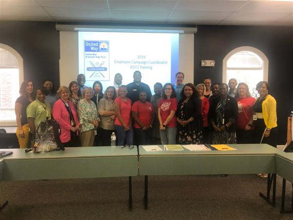 2019 GCS United Way Campaign Coordinator Training in High Point, NC