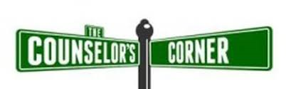 image of street sign named counselors corner